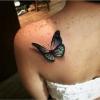 татуировка пеперуда