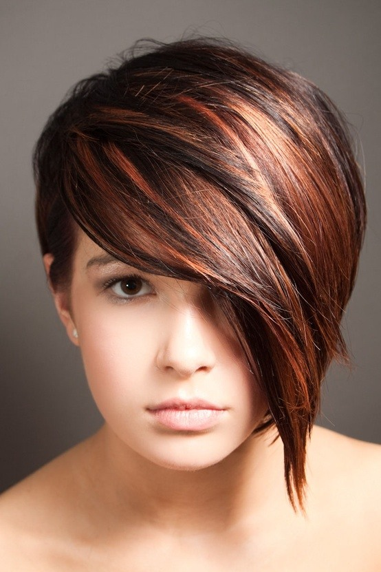 балеаж на червена коса