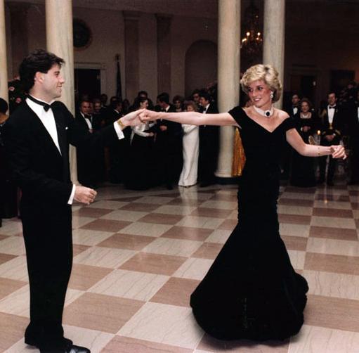 Даяна танцува с Джон Траволта