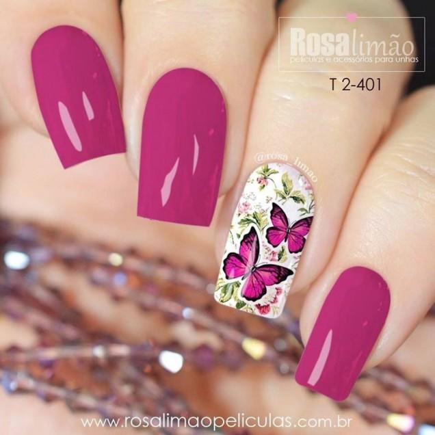 ярко лилаво с пеперуди