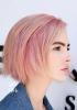 розова коса