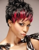 Експлозия от цвят - най-модерните трендове в прическите за къса коса тази година. Дързост и красота (Снимки):