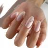 Стилен маникюр в розово, светло синьо и лилаво-Толкова нежен и красив, че нямам думи!