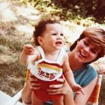 Меган Маркъл като бебе