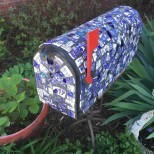 украсена пощенска кутия