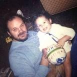 Меган Маркъл с баща си