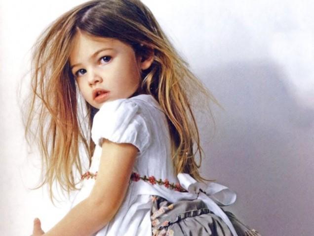 най-красивото момиченце на света