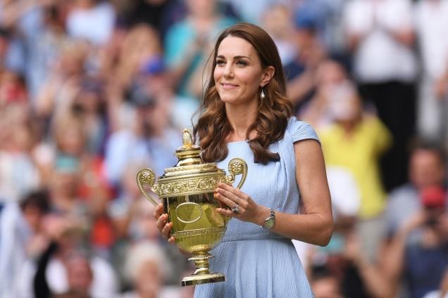 Кейт с купата на Уимбълдън