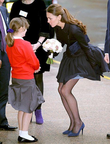 Кейт Мидълтън черна рокля