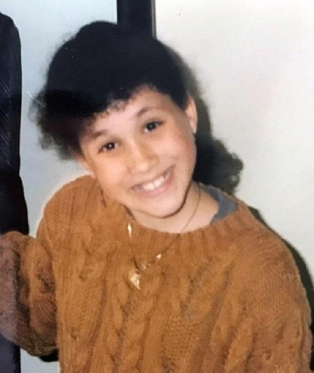 Меган Маркъл в детството си