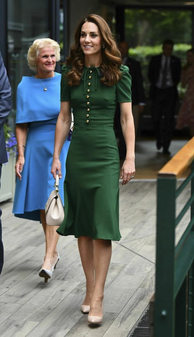 Кейт в зелено