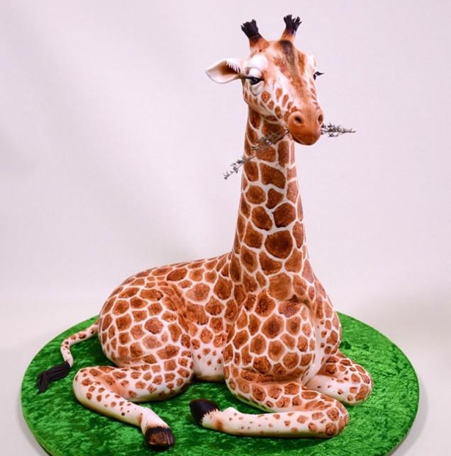 жираф торта