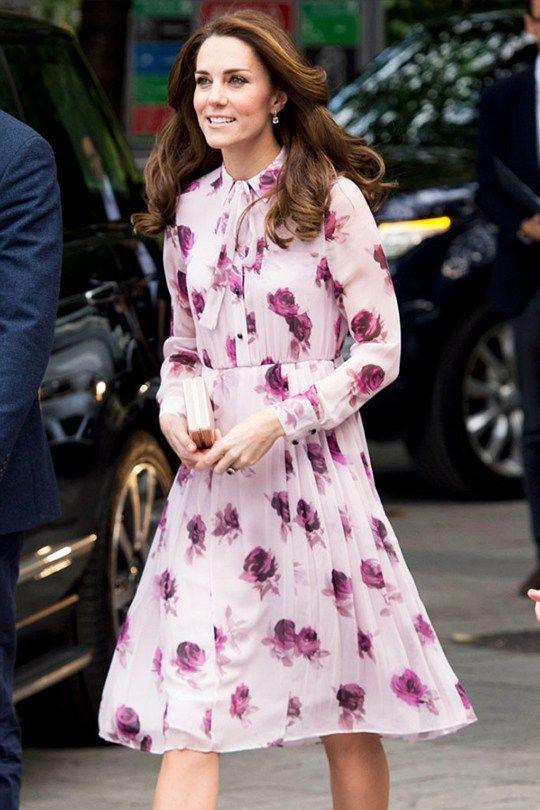 Кейт Мидълтън флорална рокля