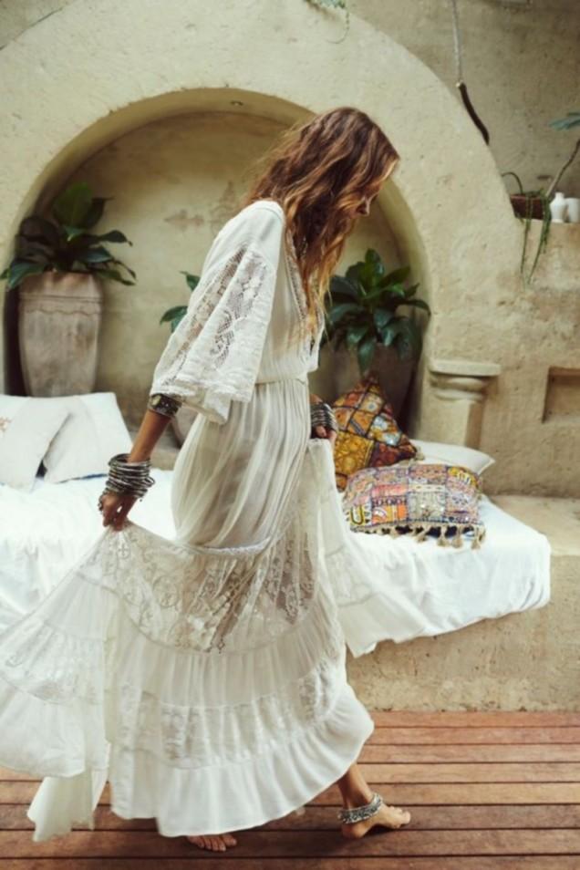 сватбена рокля с ръкав