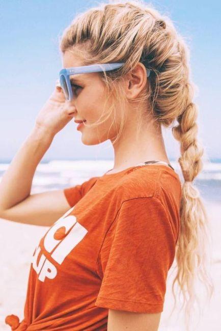 рибена кост за дълга коса