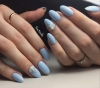 21 вълшебни летни маникюра в синьо - това лято дамите заложиха на лазурното и не сбъркаха (Снимки):