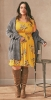 жълта рокля 2019