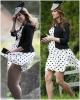 Кейт Мидълтън къса рокля на точки