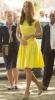 Кейт Мидълтън жълто