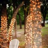 романтично кътче със светлини