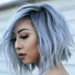 Прически за тънка къдрава коса