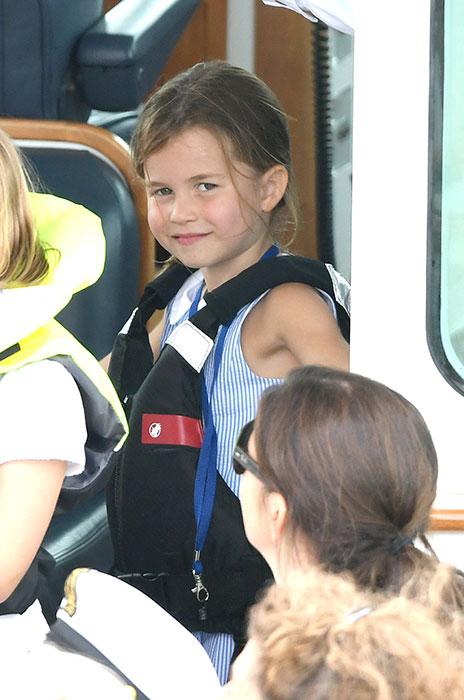 принцеса Шарлот на лодка
