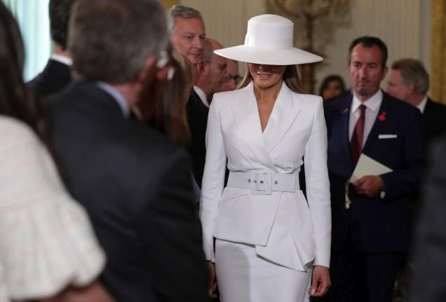 Мелания Тръмп секси шапка