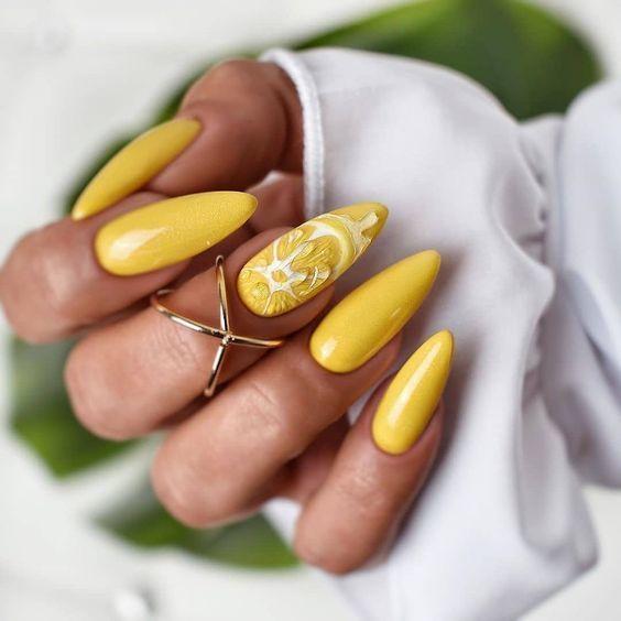 лимонен маникюр