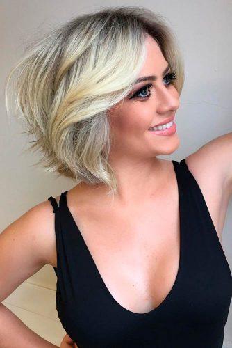 Къси прически за тънка коса