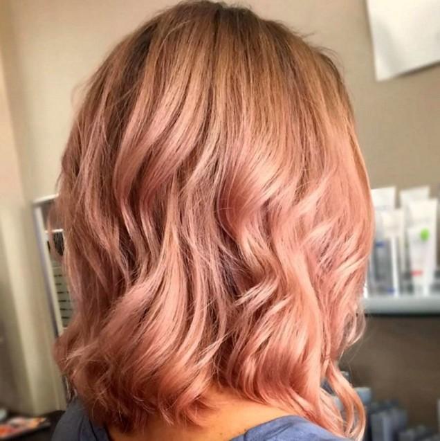 ягодово руса коса