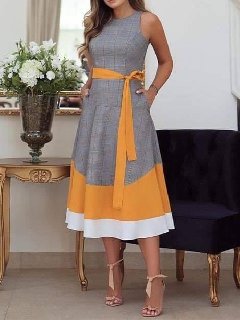 елегантна работна рокля