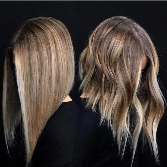 удължено каре на дълга коса