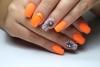 неонов оранжев мат
