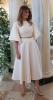 Мелания Тръмп рокля с дълъг ръкав