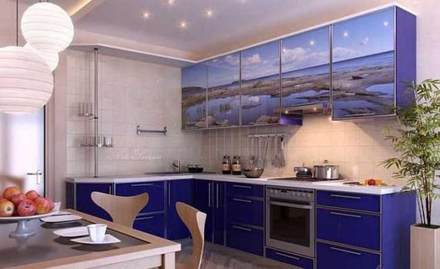 лилава кухня