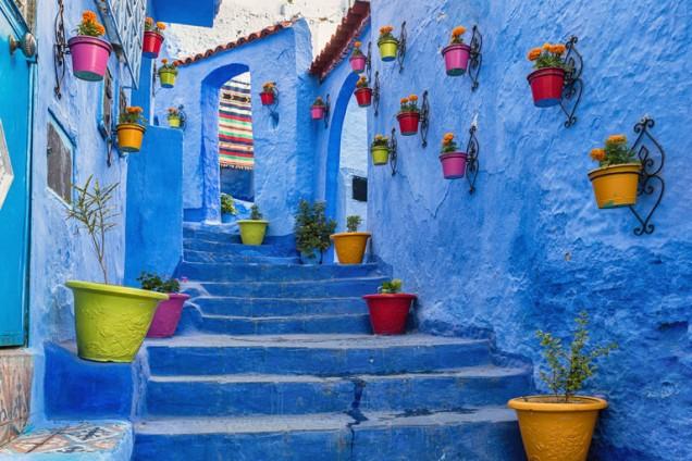 Синият град, Мароко