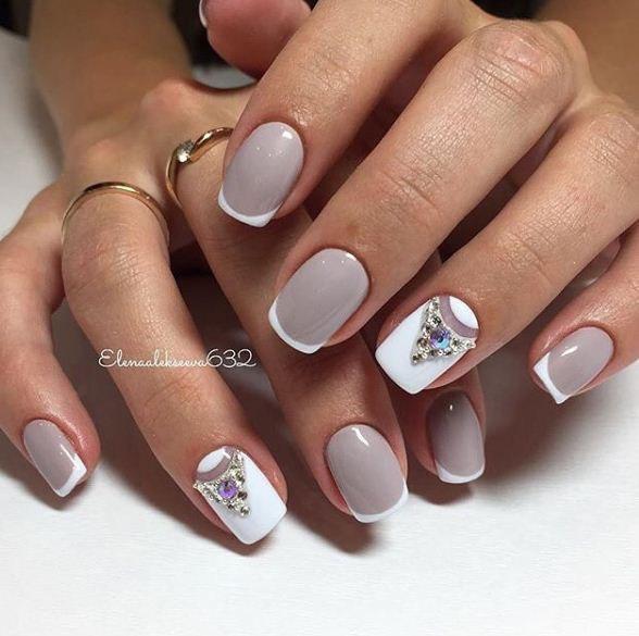 нейл арт върху къси нокти
