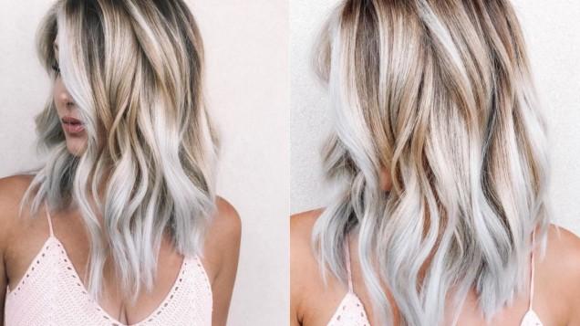 цвят препечен кокос в косите