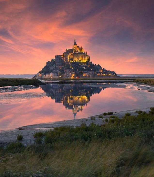 Мон Сен Мишел, Франция