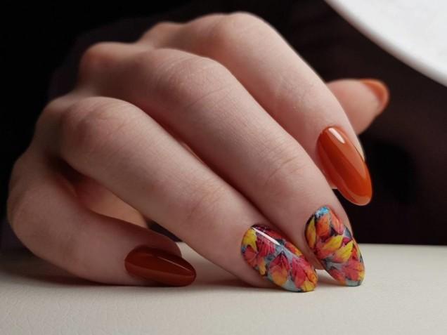 маникюр есенни цветове
