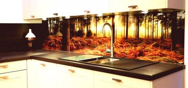 кухня с гора