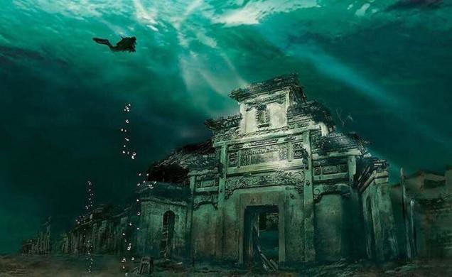 подводен град Шичен