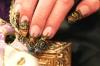 23 звездни идеи за есенен френч - нежност, красота и щипка златен блясък (Снимки):