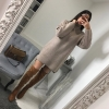 мини плетена рокля