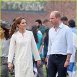 Кейт и Уилям играха крикет