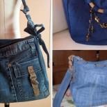 как да си направя дънкова чанта