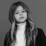 Алина Якупова като модел
