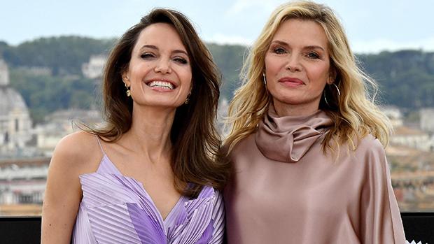 Джоли и Пфайфър на премиера