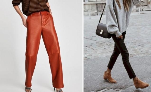 кожени панталони