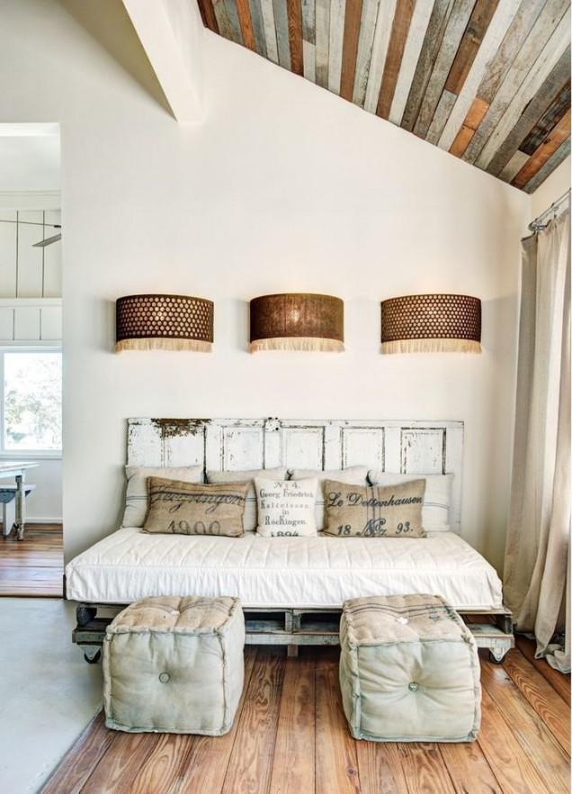 табла на легло от врата